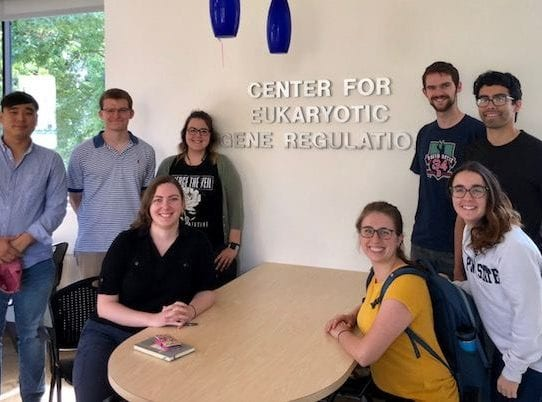 1st cohort in newly NIH funded EGR predoctoral training program!